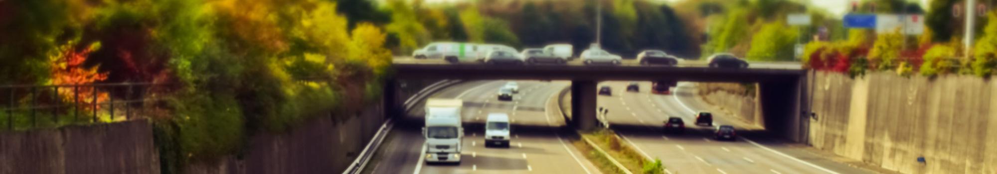Highway view.